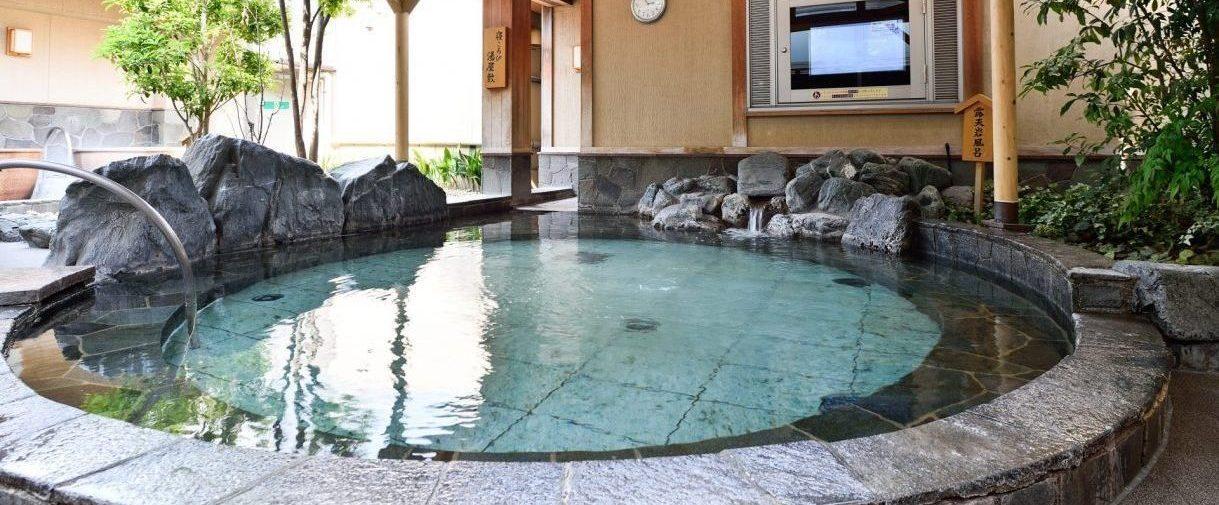 さいたま市北浦和の露天風呂