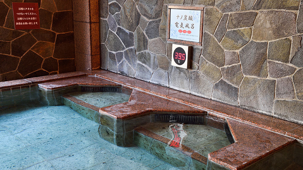 ナノ炭酸電気風呂